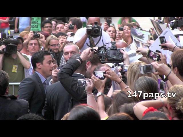 Robert Pattinson at the Cosmopolis Premiere in New York
