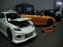 STAND MAZDA RX8 AU SWISS TUNING SHOW 2009 PART2 (SE3P)