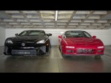 Lexus LFA vs Acura NSX! - Head 2 Head Episode 13