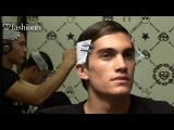 Male Models Backstage at Frankie Morello Fall/Winter 2013-14 | Milan Mens Fashion Week | FashionTV