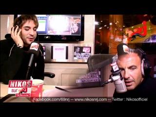 Mikelangelo Loconte parle en Italien à Karine - Le 6/9 NRJ