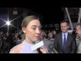 Saoirse Ronan Talks Playing Melanie / Wanda in 'The Host'