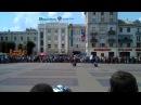 Виступ каскадерів на Тернопіль Мото-Фест