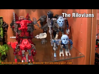 Bionicle & Hero Factory MOCs collection preview