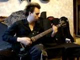 Gibson LP Studio green