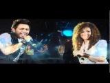 Tamer Hosny FT Aliaa - Etamen [ Marina Concert 2010 ]