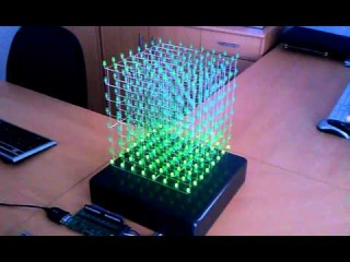 333 LED cube using arduino uno - Fun with