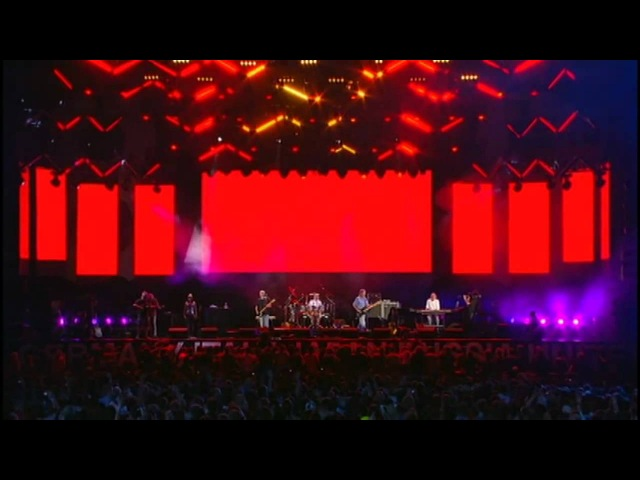 Pink Floyd - Live 8 (2005) - Comfortably Numb. The Reunion.