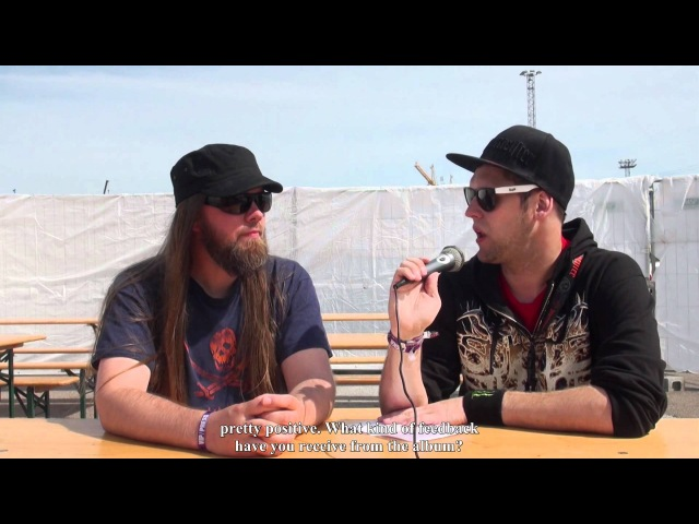 Exclusive interview with Chaosweaver keyboardist Max Power at Tuska Open Air 2012