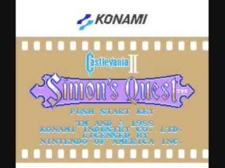 Castlevania 2 Simon's Quest Bloody Tears in G Major