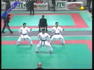 Kata SOCHIN + Bunkai by Italian National Kata team