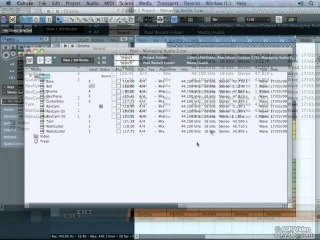Аудио файлы (урок 2-ой) - Cubase 5 from Ask Video