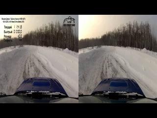 AWD Battle 2013.19/01/13.Subaru Impreza WRX (GF) Якимов Денис