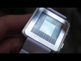 Kisai Logo LCD Watch Design with Binary Time from Tokyoflash Japan