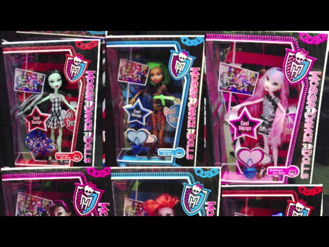 Monster High Ripoffs Five! Copies, Fake Dolls, and Knock Offs