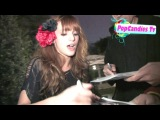 Exclusive! Bella Thorne on USC, Christian Bale, & Swallowing Lemons Whole @  the Grove in Hollywood!