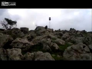 LiveLeak.com - Al Qaeda group doing recon of Israeli border in the Golan heights