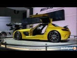 Mercedes-Benz SLS AMG Black Series Supercar, SLS GT and GL63 AMG @ 2012 LA Auto Show