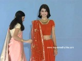How to wear Lehenga Style Saree