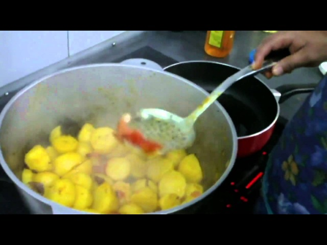 Уроки ведической кулинарии. Алу дам | iVeda | vk.comavcook