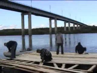 На плоту по реке Ветлуге часть 1.flv