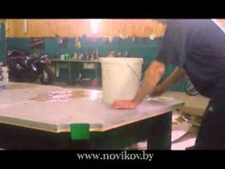 Установка бильярдного стола. Монтаж стола. www.novikov.by