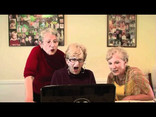 ↔ TUMBLR: Grandmas watch Kardashian sex tape ↔