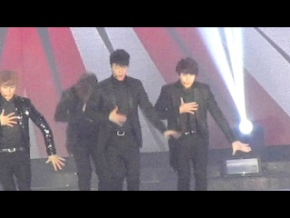 121130 Super Junior - SPY + Sexy Free & Single in MAMA (2012 Mnet Asian Music Awards in HK) Fancam