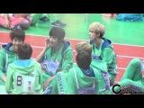 130128 EXO 아이돌스타 육상 양궁 선수권대회 깨알 찬열이 cam