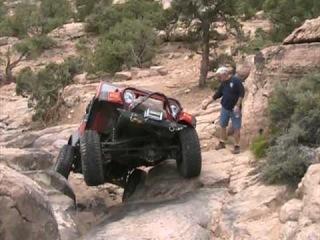 Lew Having Jeep Fun in Moab Easter Jeep Safari Video - Crash, Burn, Roll - 4x4 4wd Off Road