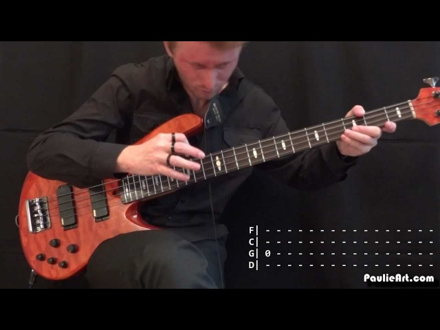 Paradise Lost - Accept the Pain: Bass guitar Cover