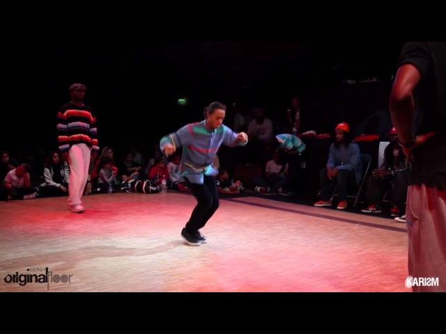 Cergy Original Floor 2 1 4 Finale 2VS2 Hiphop Paradox Paul Ereck Vs Niako Poogie Karism