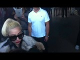 Lady Gaga meeting monsters in her hotel in Sofia