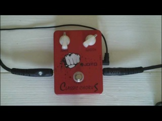 JOYO Classic Chorus Pedal JF-05 Demonstration Video Review
