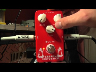 Joyo Crunch Distortion JF-03 Rockday.pl test