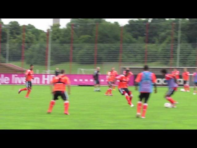 Xherdan Shaqiri Traumtor (Dreamgoal) für FC Bayern München / Willkommen beim FCB - HD 2012/2013