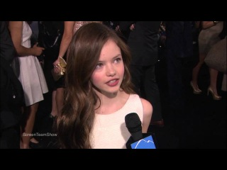 Mackenzie Foy - Breaking Dawn Part 2 Premiere  [Interview]
