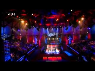 Charlotte ten Brink & Alma Nieto & Shary-an Nivillac in The Voice of Holland.