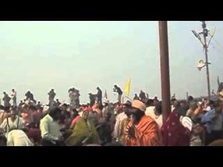 Кумбха Мела 2013, Первое омовение