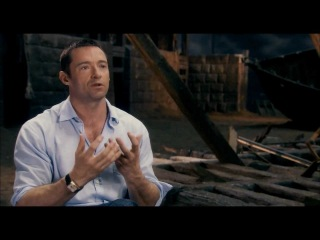 "Les Miserables ""Singing Live"" Featurette Official HD 1080 - Hugh Jackman"