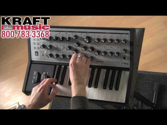 Kraft Music - Moog Sub Phatty Demo with Jake Widgeon
