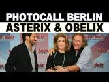 Photocall Berlin ASTERIX und OBELIX Gerard Depardieu IM AUFTRAG IHRER MAJEST