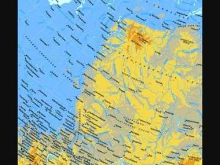 Карты Земли будущего.  Предсказания Скаллиона.