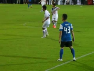 [FANCAM] 120523 Kang Gary playing football @ Asian Dream Cup 2012 in Thailand