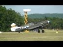 Curtiss P-40 Full HD au sol et en vol Motor sounds La Ferté-Alais LFTA 2010