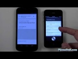 Google Voice Search vs. Siri (Android 4.1 Jelly Bean)