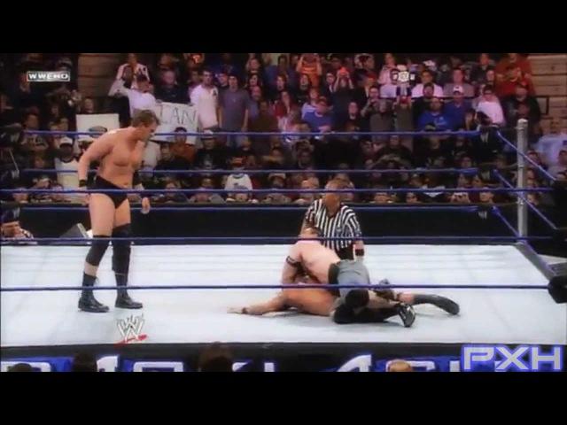 WWE Orton vs Cena vs Triple H vs JBL Highlights - HD Backlash 2008