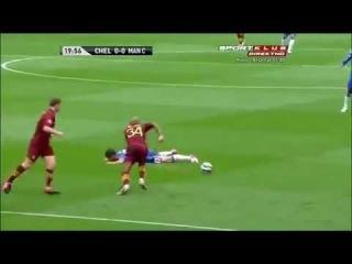 Eden Hazard Fail Trick ! (Epic FAIL LOL) Chelsea vs Manchester City