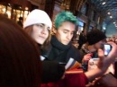 Jared Leto signing autograph in Moscow (11122010)