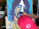 Dave Grohl Speed Painting by Timothy Teruo Watters TTW